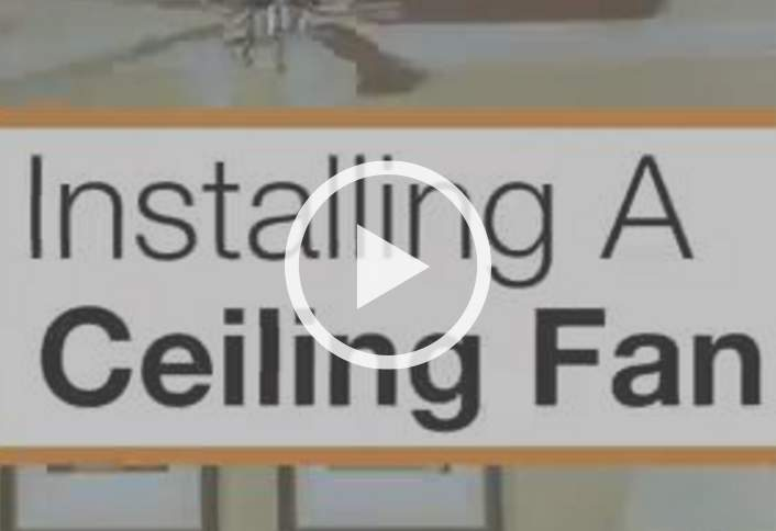 Installing Ceiling Fans at The Home Depot