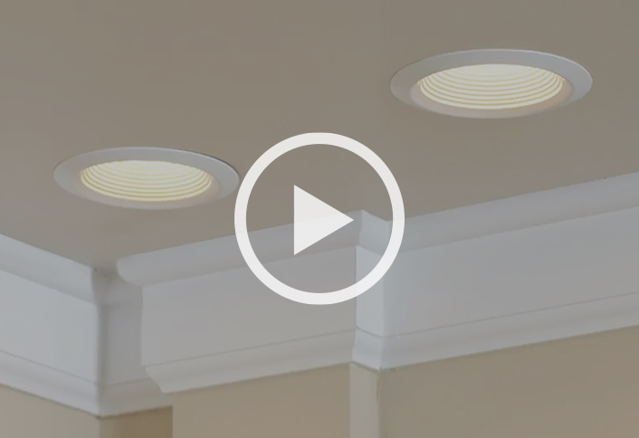 learn to install recessed lighting at the home depot rh homedepot com installing recessed can lights install recessed ceiling lights