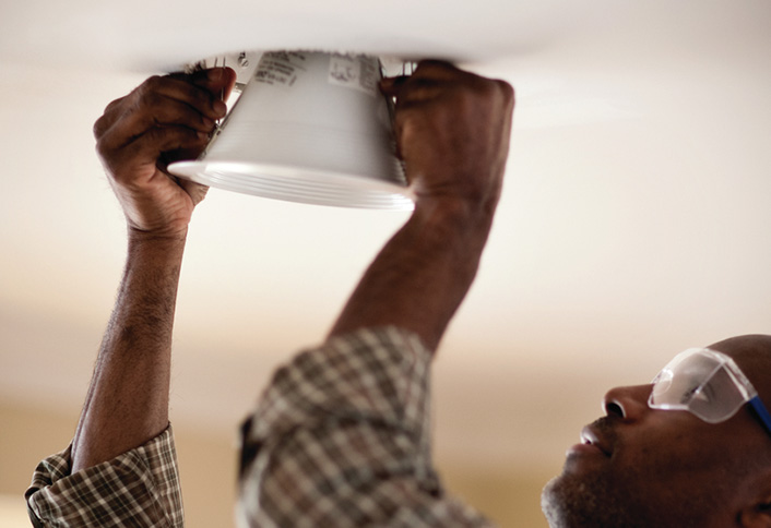 Learn to Install Recessed Lighting at The Home Depot