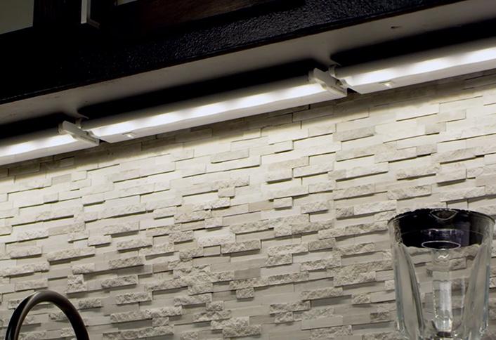 easy install under cabinet lighting kitchen installing undercabinet lighting at the home depot