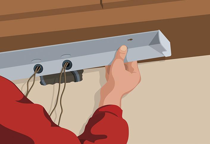 installing under cabinet lighting. Attach Lights - Under-Cabinet Lighting Installing Under Cabinet O