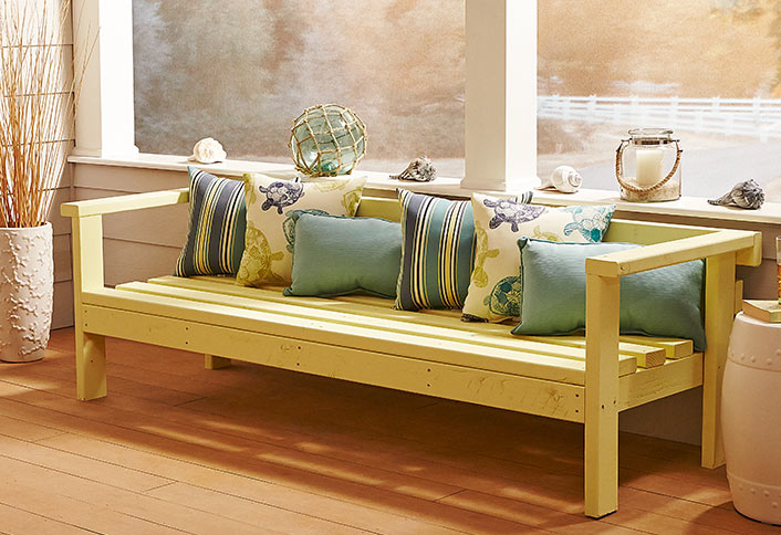 Build An Outdoor Sofa