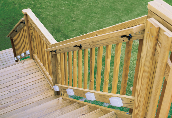 Awesome Replacing A Deck Stair Railing