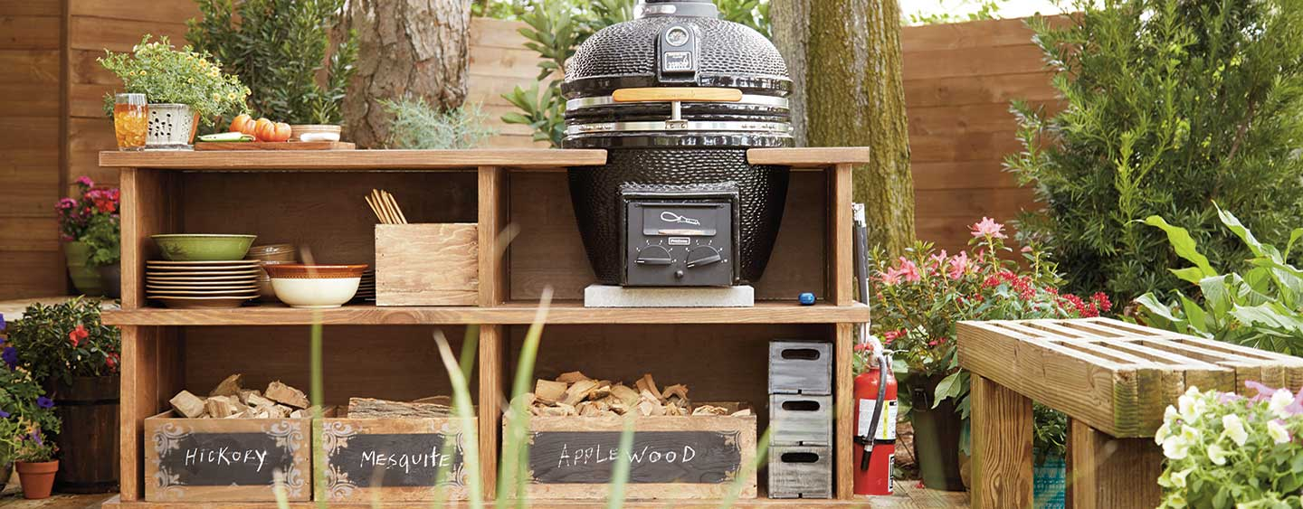 How To Build An Outdoor Grill Station