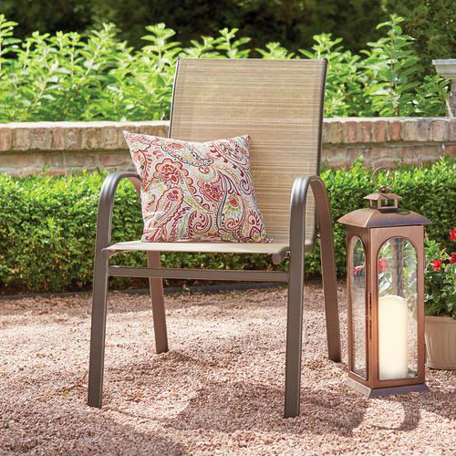 Around A Frame Sling Chairs Have The Advantage Of Being Lightweight Easy To Move And Are Usually Least Expensive Type Patio Chair