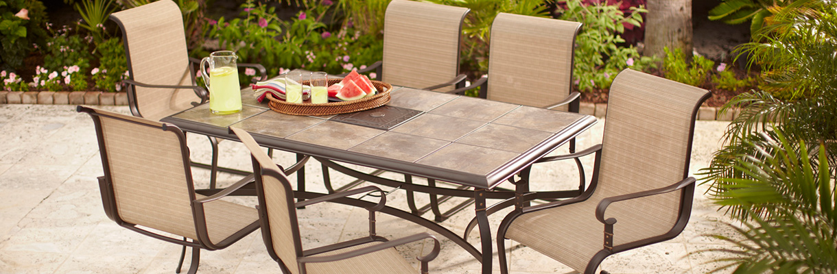 Choose the Right Furniture for Your Patio at The Home Depot