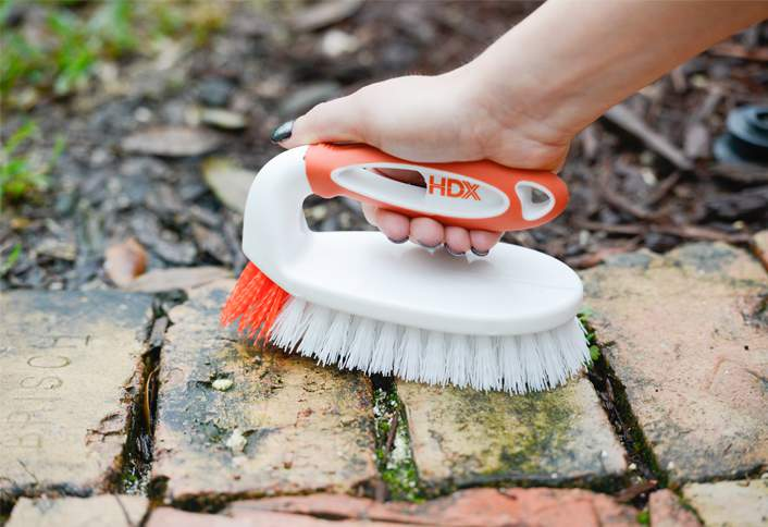 how to clean bricks at the home depot