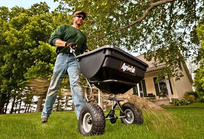 fetching home depot garden carts. Spread your fertilizer and grass seed far wide with a drop or broadcast  spreader Select the Right Spreader for Your Lawn at The Home Depot