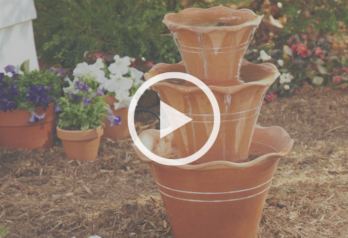 How To Make A Terra Cotta Pot Fountain