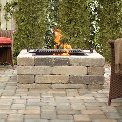 outdoor fire pits at the home depot
