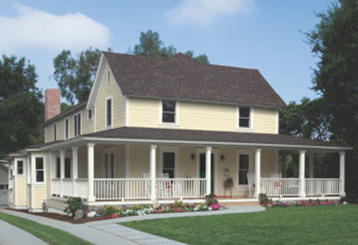 Choose Exterior Paint For Your Country Style Home