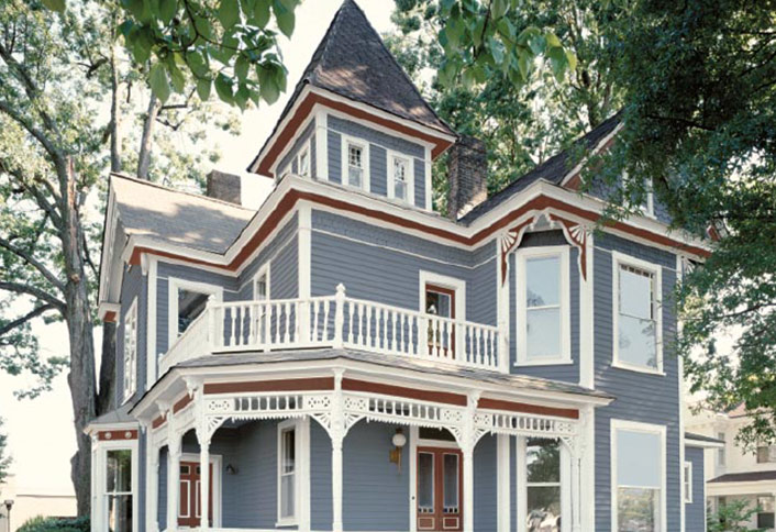 Choose Exterior Paint For Your Victorian Era Home