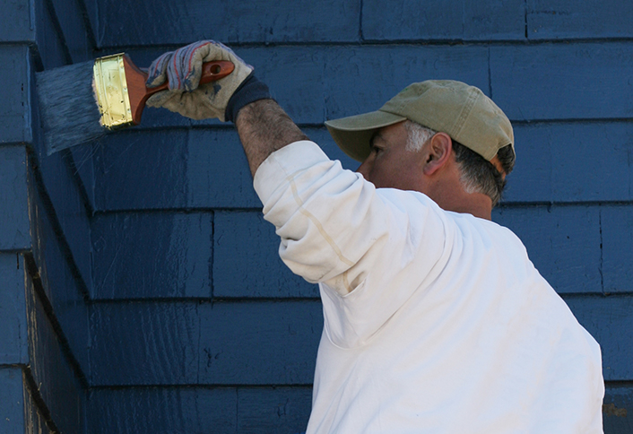 Project Guide Painting Exterior Walls At The Home Depot - Exterior-painting-house