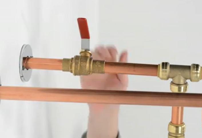 hook up water heater