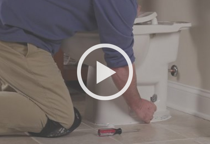 How To Install A Toilet At The Home Depot