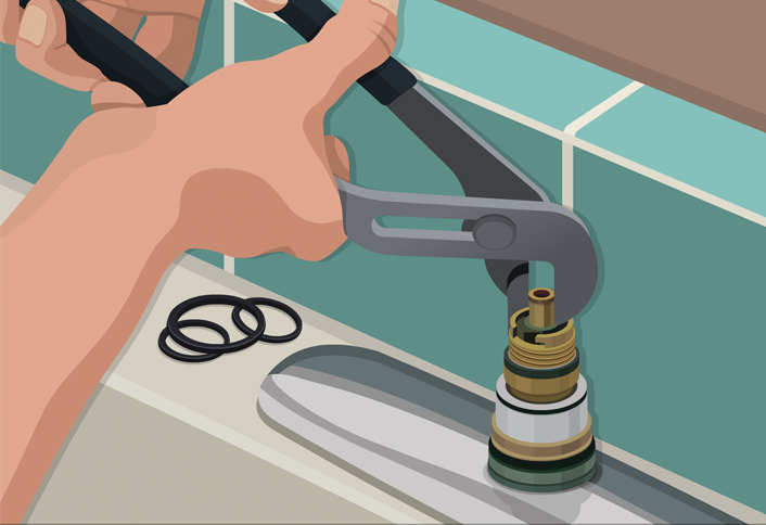 Superior Replace The Cartridge   How Replace Cartridge Sink Faucets