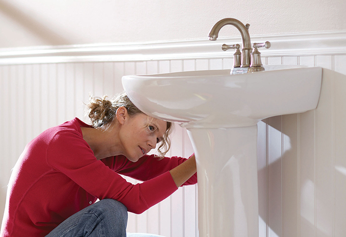 Beau How To Install A Pedestal Sink