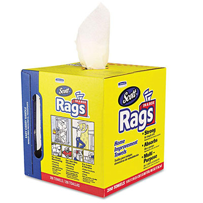 Clean cotton rags