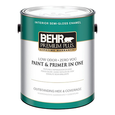 BEHR Satin Interior Paint and Primer