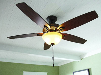 Installing a ceiling fan the home depot how to diagnose and repair noisy ceiling fans mozeypictures Choice Image