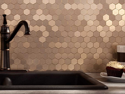 Trending in the Aisles: Easy Backsplash Update