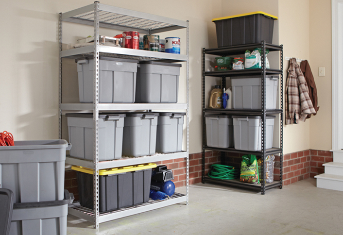 Garage Organization Ideas Home Depot Part - 27: Install Wire Shelving - Garage Storage Systems