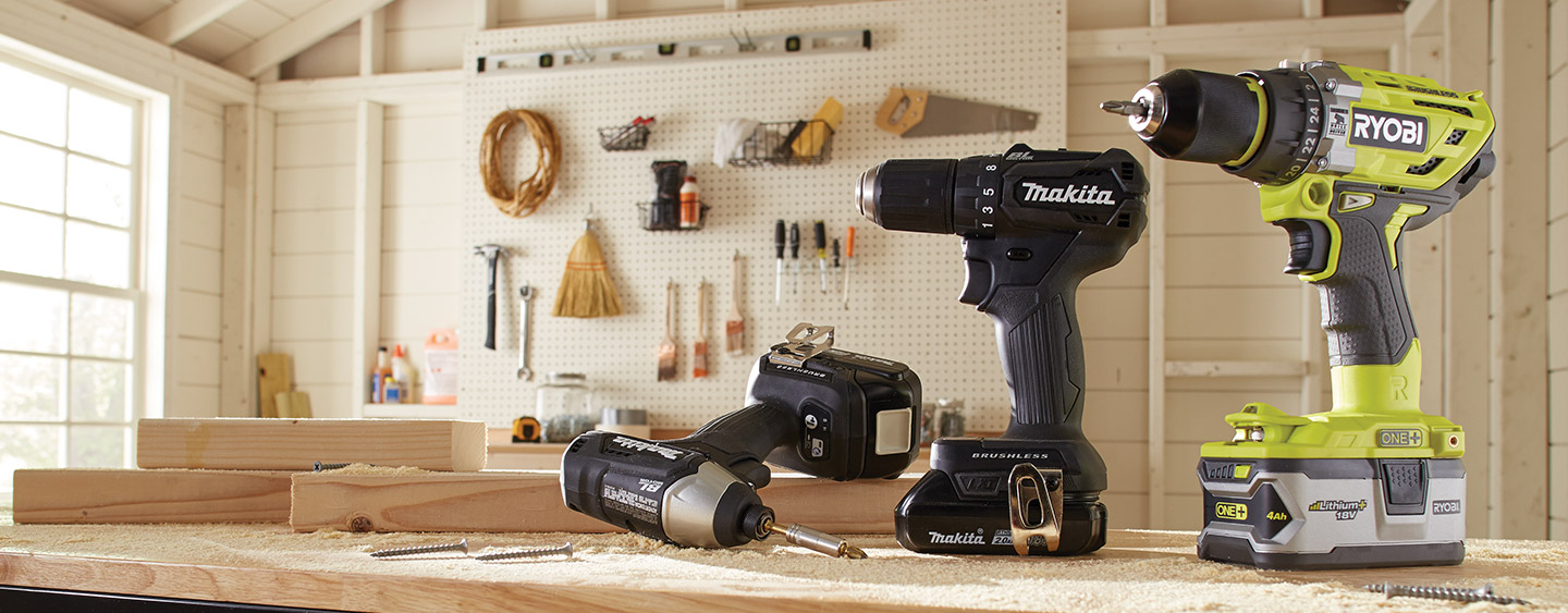 Cordless - Power Drills - Drills - The Home Depot