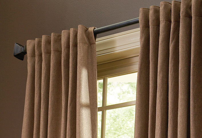 How To Choose the Right Drapery Hardware at The Home Depot