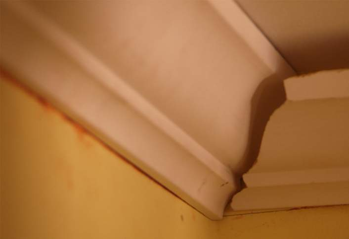 Steps To Cut A Cope Joint On Crown Moulding At The Home Depot
