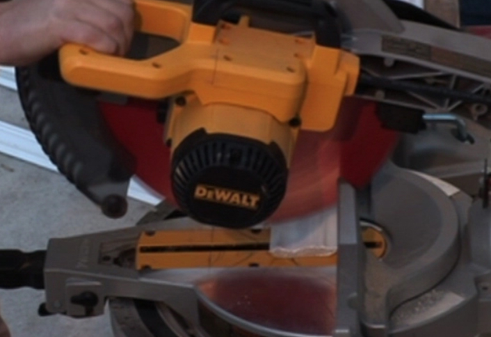 Make Outside Corner Cuts With A Miter Saw At The Home Depot