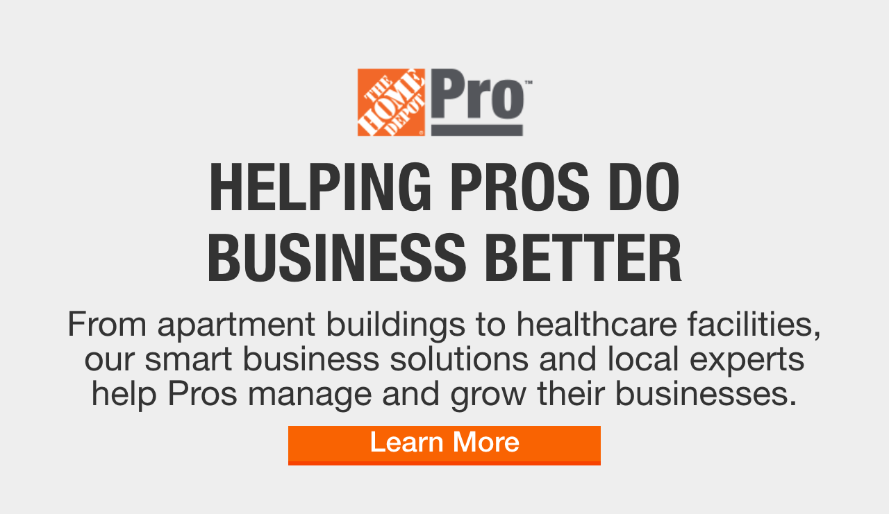 exclusive benefits & savings for contractors at the home depot