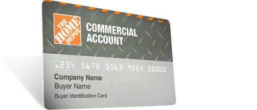 Credit card offers the home depot home depot commercial account card colourmoves Images