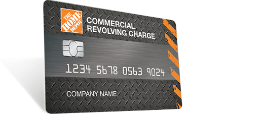 Home Depot Commercial Revolving Card