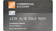Apply for Home Depot Commercial Account Card