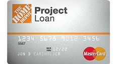 Apply for Home Depot Loan Card
