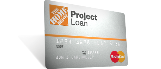 Home Depot Loan Card