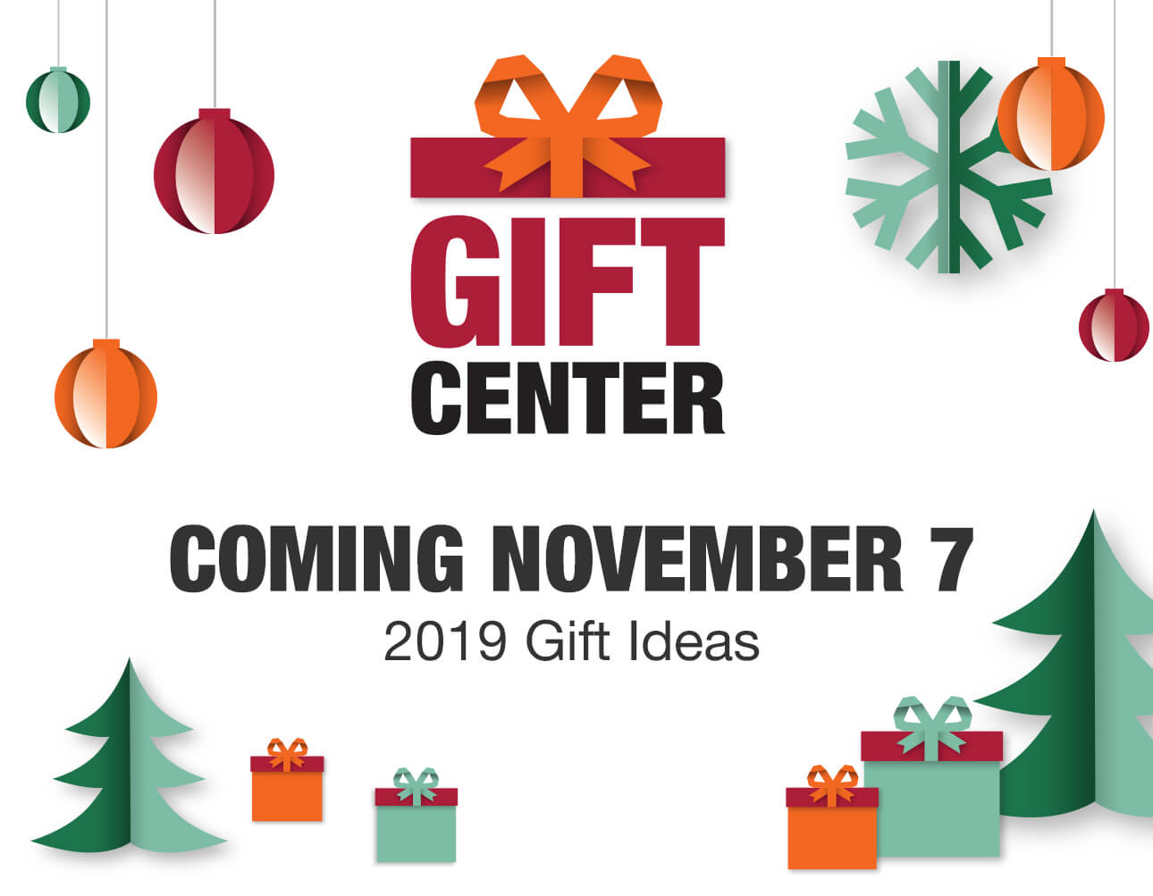 Christmas Ideas 2019 Gifts.Holiday Gift Center