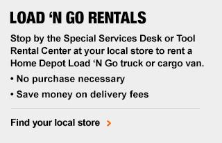 Truck Rentals Tool Rental The Home Depot