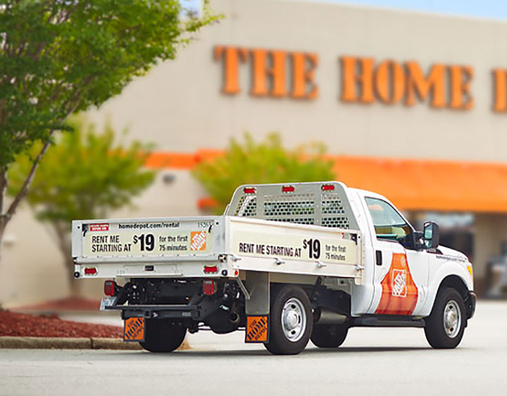 Trucks For Rent >> Truck Rentals Tool Rental The Home Depot