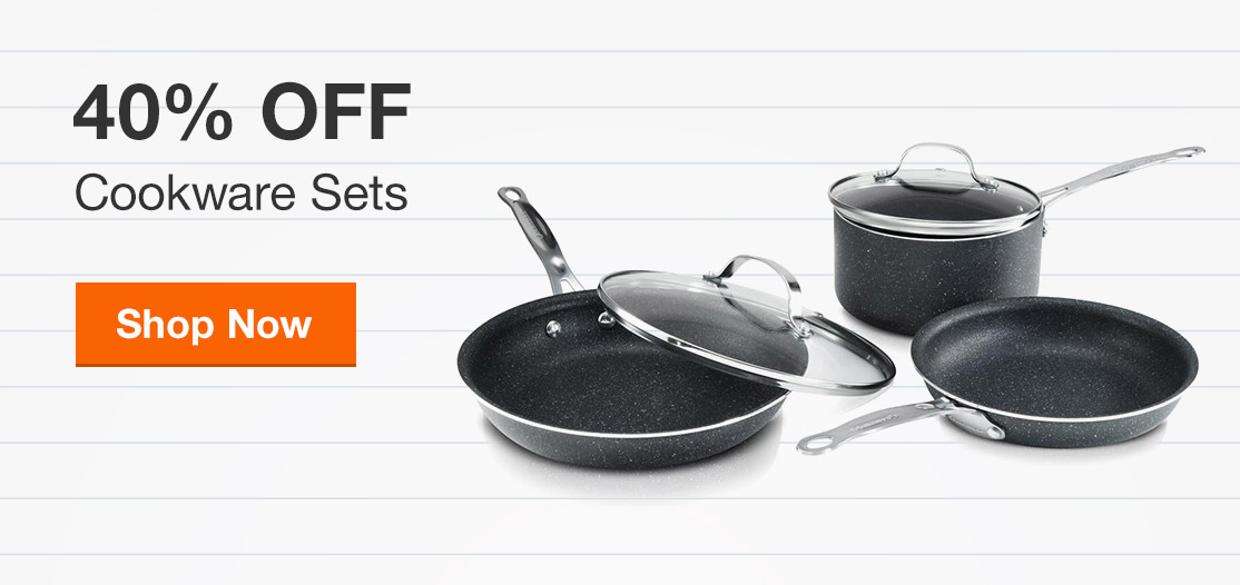 40% Off Cookware Sets