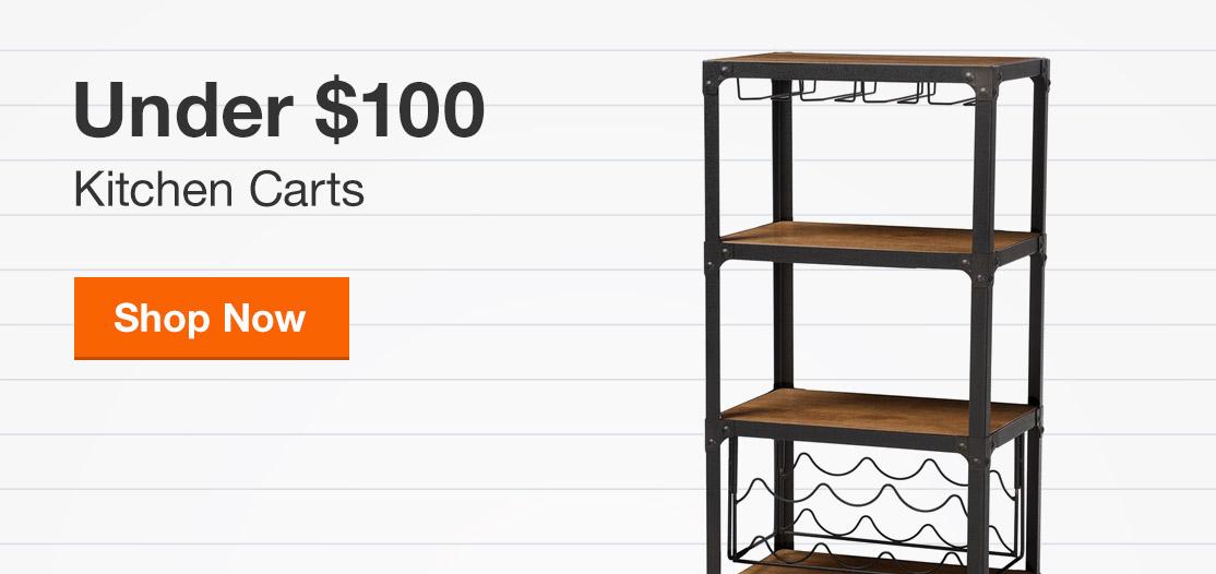 Kitchen Carts Under $100
