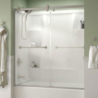 Bathtub Doors & Frosted - Bathtub Doors - Bathtubs - The Home Depot