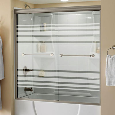 Patterned Glass · Shower Doors & Bathtub Doors - Bathtubs - The Home Depot