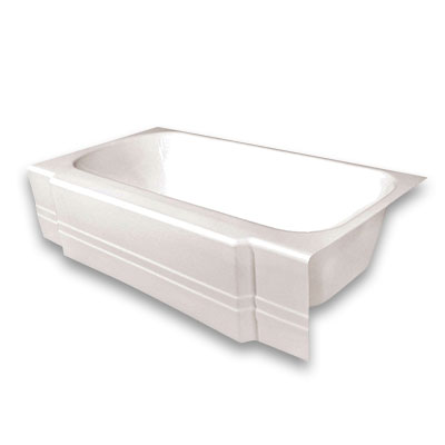 Freestanding bathtubs bathtubs the home depot for Tub liner