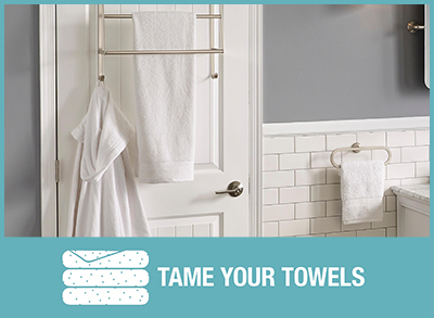 TAME YOUR TOWELS