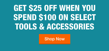 Get $25 Off Your Purchase of $100 with Select Purchase