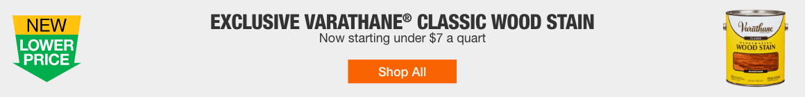 EXCLUSIVE VARATHANE® CLASSIC WOOD STAIN - Now starting under $7 a quart - Shop All