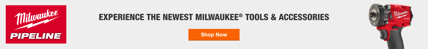 Experience The Newest Milwaukee® Tools & Accessories
