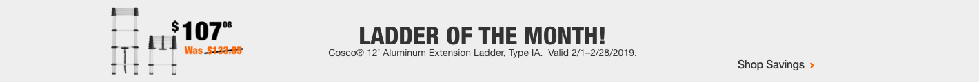 Ladder of the Month!