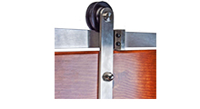 Barn Door Hardware Chrome Accessories